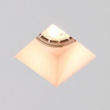 Faretto in Gesso Ceramico Ghiera da Incasso per Faretto Led