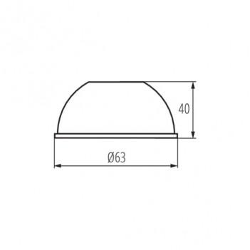 Riflettore 15 Gradi per Faretto Led Kanlux ACORD ATL1 18W