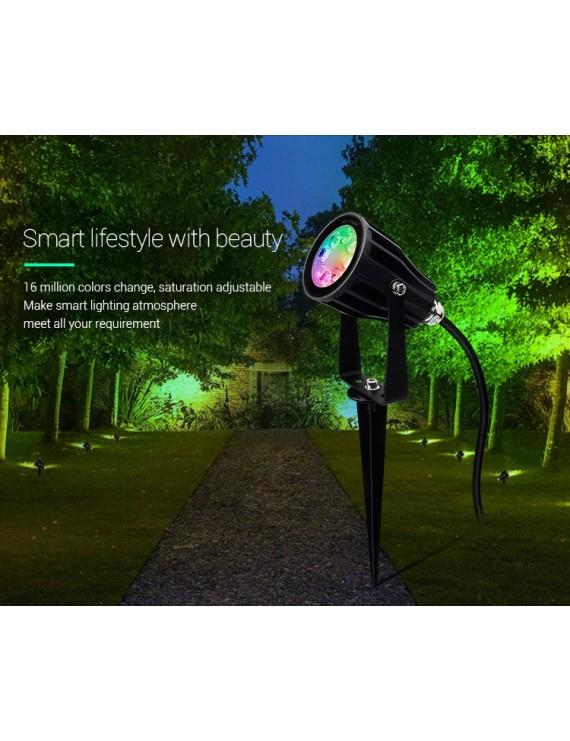 Mi-Light Foco LED con Pincho para Jardín RGB+CCT 6W IP66 FUTC04