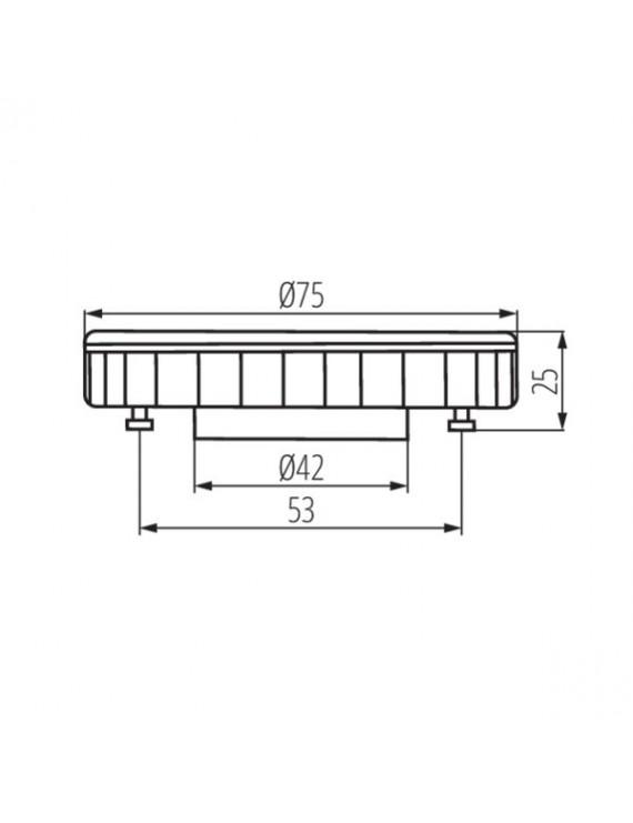 Lampada Led GX53 9W 750lm 230V - Kanlux ESG