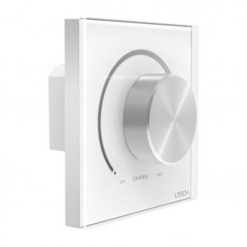 LTECH Controller da Muro E610P-RF con Rotella Dimmer 0-10V