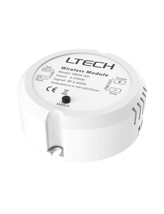 LTECH EBOX-AD 0-10V PWM DIMMER - Serie L-BUS