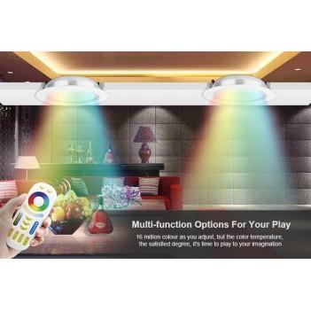 Mi-Light Plafoniera da Incasso 12W RGB+CCT WiFi FUT066 FORO