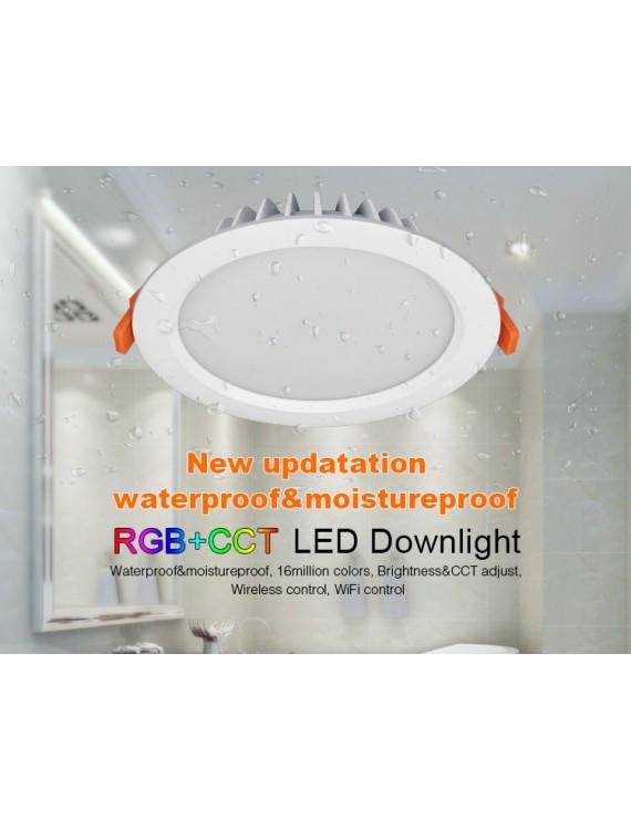 Mi-Light Recessed Ceiling Light 15W RGB+CCT IP54 WiFi FUT069