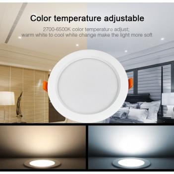 Mi-Light Plafoniera Da Incasso 15W RGB+CCT IP54 WiFi FUT069