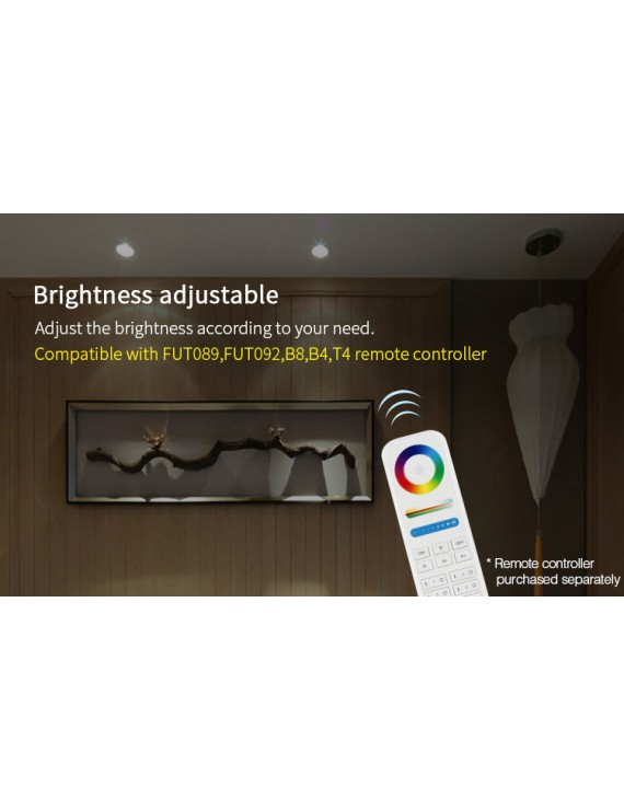 Mi-Light Recessed Ceiling Light 9W RGB+CCT WiFi FUT062