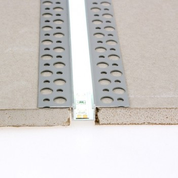 10x Profili in Alluminio da Cartongesso 2 Metri (20mt) -