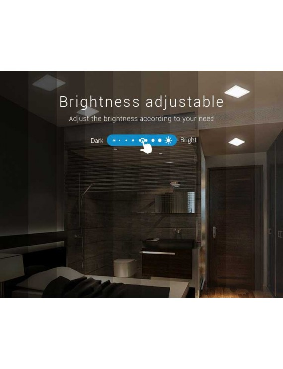 Mi-Light Recessed Ceiling Light 9W RGB+CCT WiFi FUT064