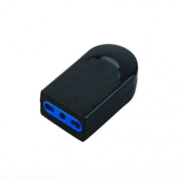 10 / 16A 2P + E socket Black - Without cable