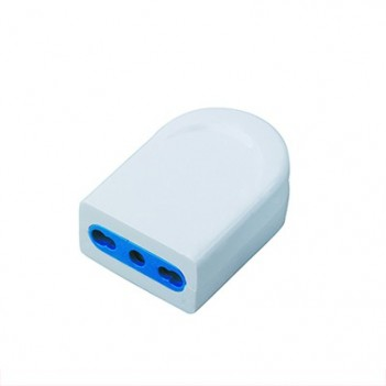 Socket 10 / 16A 2P + T Polybag White - Without Cable