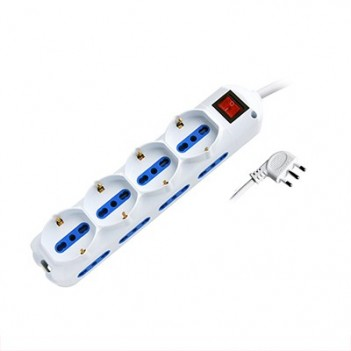 Power Strip 12 Places Bypass + Bypass Schuko Plug 16A - Switch