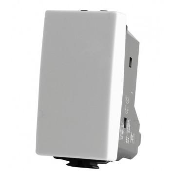 Deviatore Unipolare 1 Modulo 16A Bianco T3 Compatibile Bticino