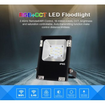 Mi-Light Proiettore Faro Led 10W RGB+CCT WiFi FUTT05