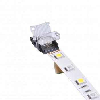 CONNETTORE RGBW CLIP HIPPO 12MM 5 PIN STRIP-CAVO