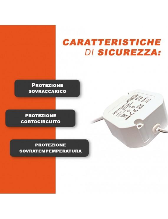 LED Driver 20W da 12V Waterproof IP67