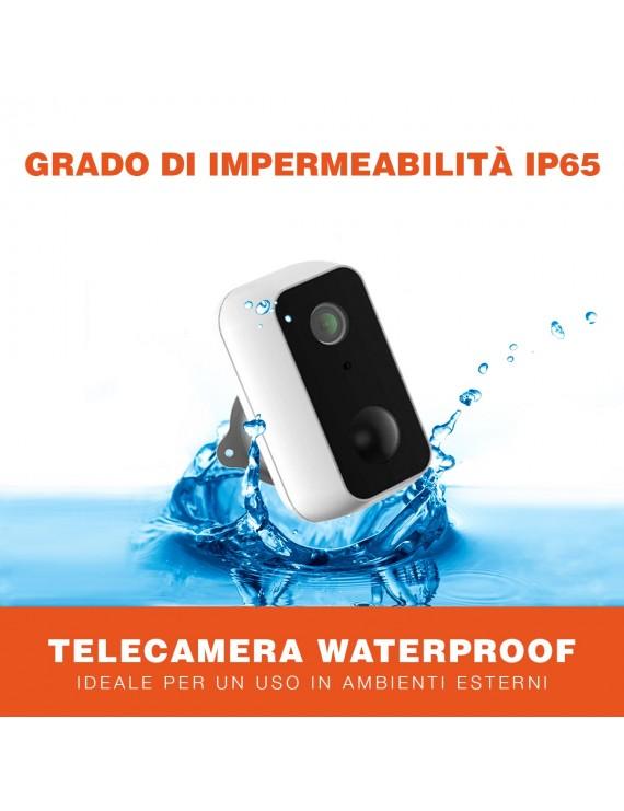 Battery powered Security Camera Wifi Waterproof