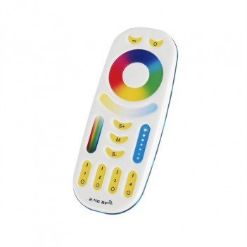 Mi-Light WiFi Remote RGB+CCT 4 Zones Full Touch FUT092