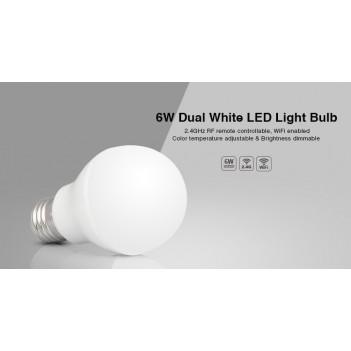Mi-Light Lampadina Led E27 6W Dual White CCT WiFi FUT017