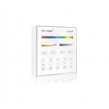 Mi-Light Wall Remote WiFi Multicolor Dual White RGB+CCT Dimmer