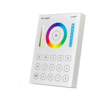 Mi-Light Wall Remote WiFi RGB+CCT 8 Zones Full Touch B8