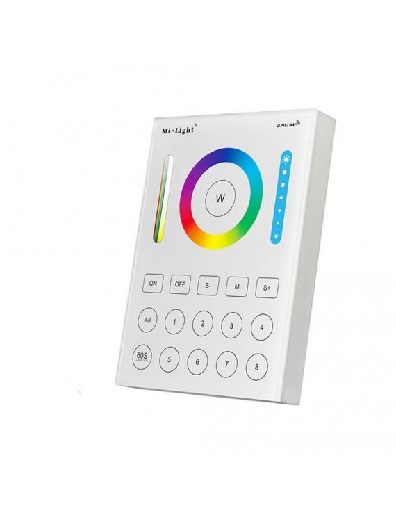 Mi-Light Wall Remote WiFi RGB+CCT 8 Zones Full Touch B8