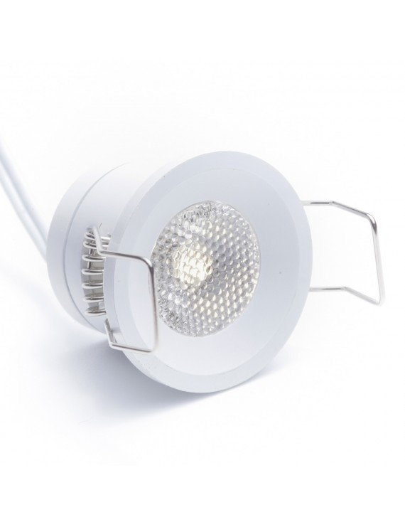 LED Recessed Spotlight 1W 12V Natural White 4000K 130LM IP20