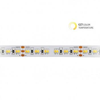 Striscia Led 24V 90W CCT Kelvin Variabile da 2700k - 6500k IP20