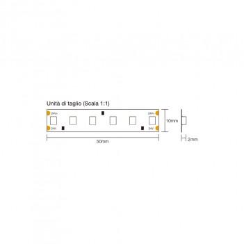 Led Strip 90W 1800lm/mt 24V IP20 PCB 10mm 600 SMD Reel 2835