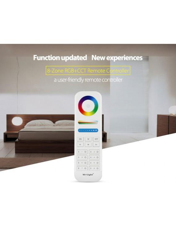 Mi-Light 8 Zones Remote WiFi RGB+CCT FUT089