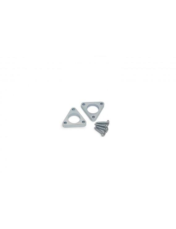 Set 2 Ganci Triangolare Slim Laterale per PEN8