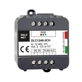 Dimmer RGB DALCNET Easyrgb DLC1248-3CV-RGB 3 Canali x 1.6A