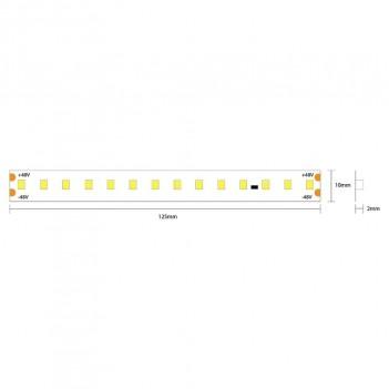 Led Strip Extra Long 25mt 112led/mt 12W/mt SMD 2835 24V IP20
