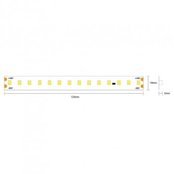 Ruban à LED Extra Long 25mt 112led/mt 12W/mt SMD 2835 24V IP20