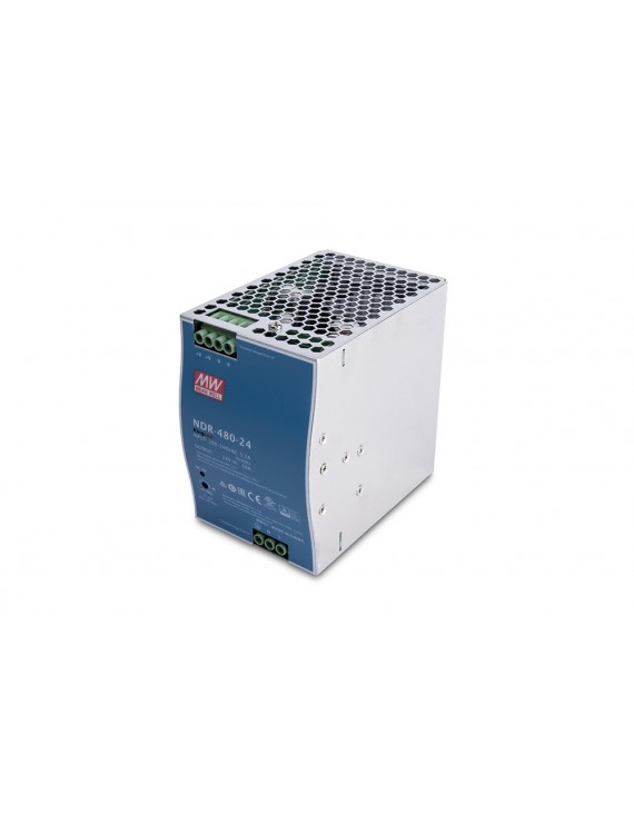 Alimentatore MeanWell Barra Din NDR-480-24 Industriale