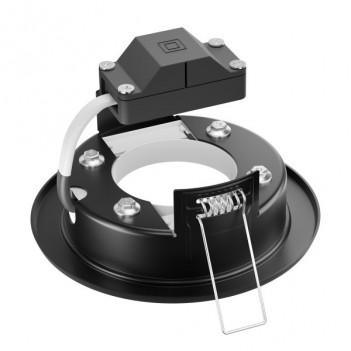 Portafaretto Rotondo Fisso da Incasso Foro 90mm per Lampada GX53