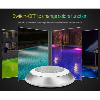Mi-Light UW01 Pool Lamp 15W RGB+CCT IP68 - LORA Protocol