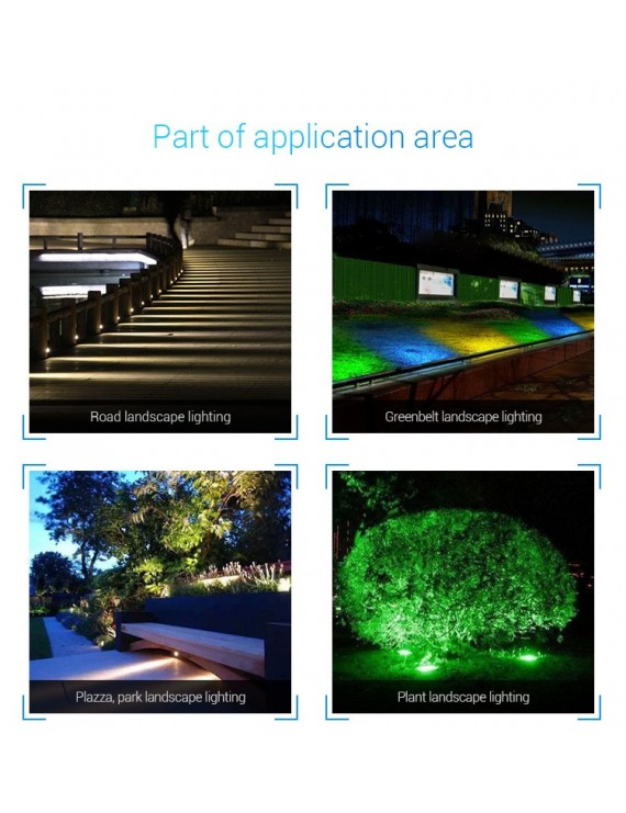 Mi-Light Foco LED con Pincho para Jardín Wi-Fi RGB+CCT 25W IP66