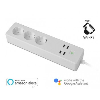 Smart Power Strip Wi-Fi 16A...
