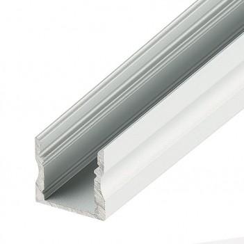 Profilo Alluminio 1mt CC-32 ALTO + Cover + Ganci + Tappi