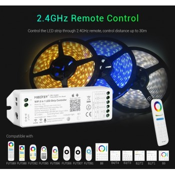 Mi Light WL5 Ricevitore Universale per Striscia Led - Gestibile