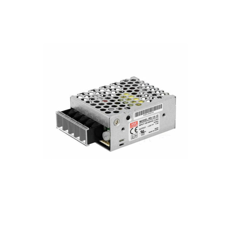 Meanwell Power Supply 15W for Led Strip 12V Transformer RS-15-12