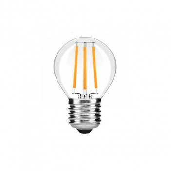 Lampadina Led Filamento E27 4W 400lm Mini Bulbo