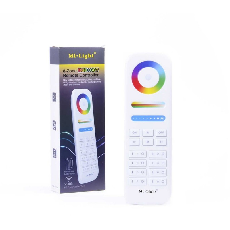 Mi-Light 8 Zones Remote WiFi RGB+CCT FUT089
