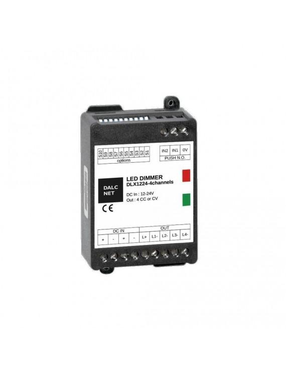 DALCNET DLX1224-4CV Controller Dimmer Monocolore, Dual White