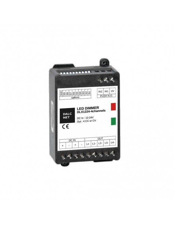 Dimmer DALCNET 4 Canali RGB+W Led Multi Canale DLX1224-4CV