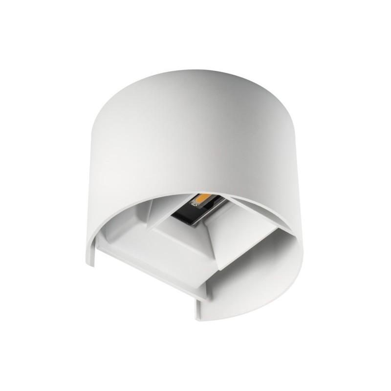 Applique da Muro 7W 510lm 4000K 220V IP54 – REKA Bianco Rotondo