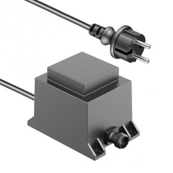 Alimentatore LED 40W con Sistema a Spina IP44 NEMO 12V AC