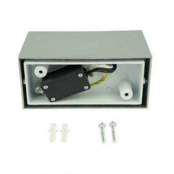 Applique da Muro Up&Down per 2 Faretti Led GU10 220V IP54 –