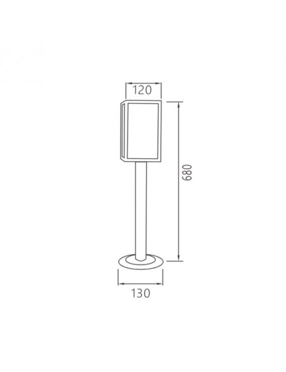 Paletto da Giardino per Lampadina Led E27 220V IP44 – ATRIUM
