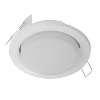 Portafaretto da Incasso per Lampada Led GX53 Foro 90mm - Bianco
